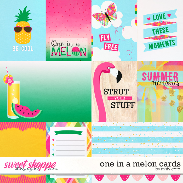 One in a Melon Cards by Misty Cato