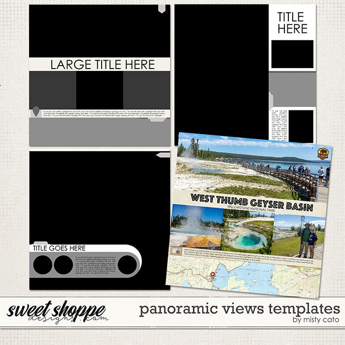 Panoramic Views Templates by Misty Cato