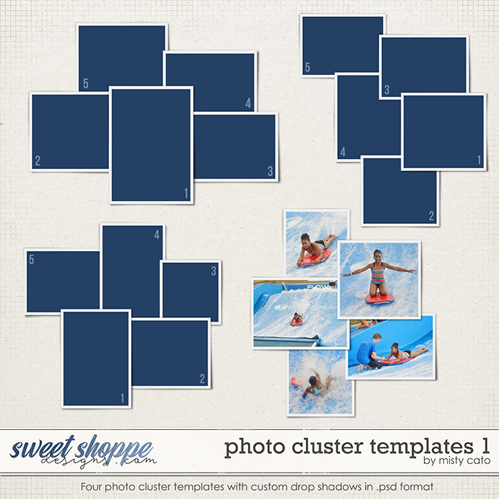 Photo Cluster Templates 1 by Misty Cato