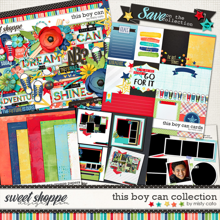 This Boy Can Collection by Misty Cato
