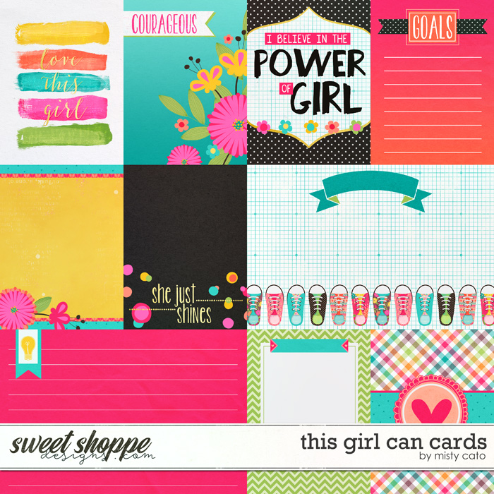 This Girl Can Cards by Misty Cato
