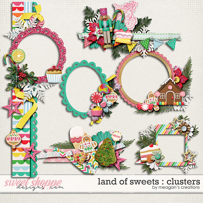 Land of Sweets : Clusters by Meagan's Creations