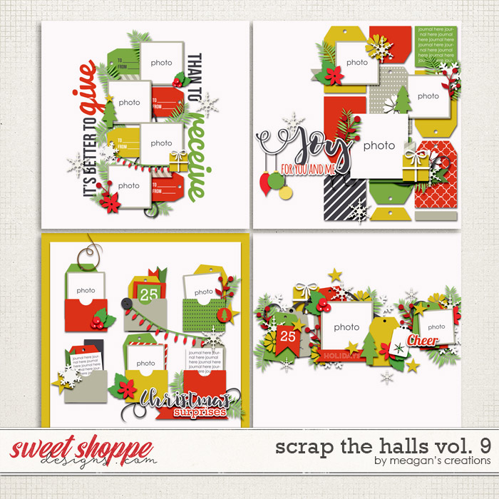 Scrap the Halls Vol. 9 by Meagan's Creations