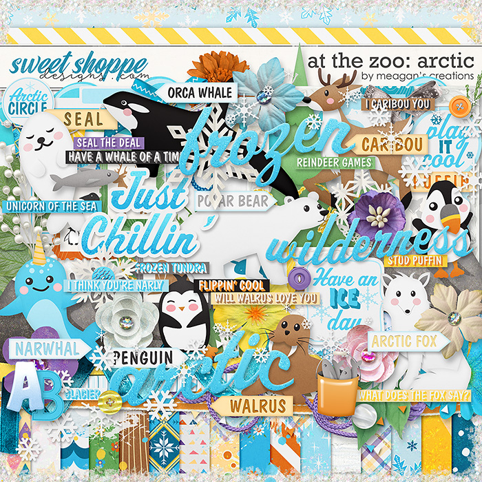 At the Zoo: Arctic by Meagan's Creations