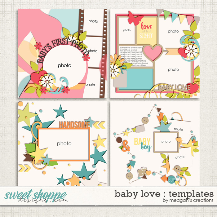 Baby Love : Templates by Meagan's Creations