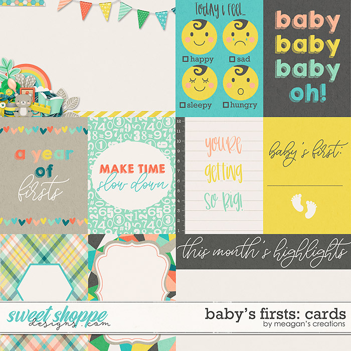 Baby's Firsts Cards by Meagan's Creations