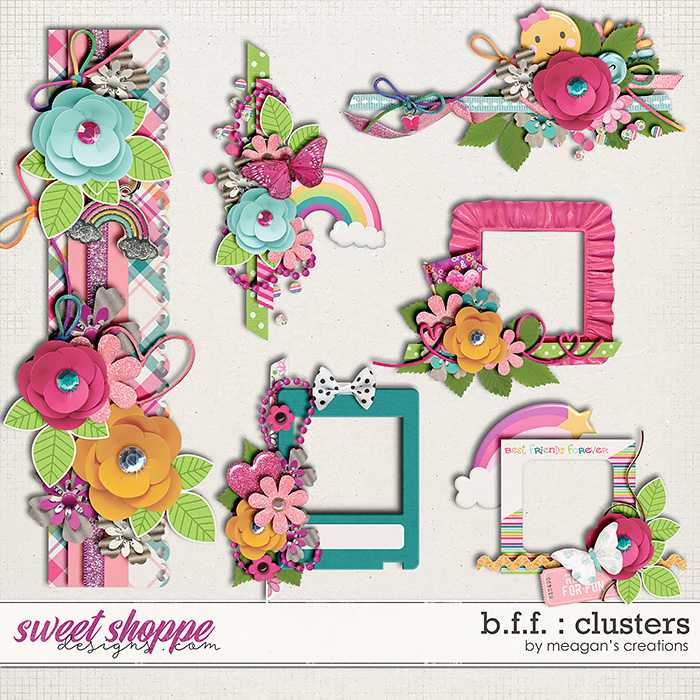 B.F.F. : Clusters by Meagan's Creations
