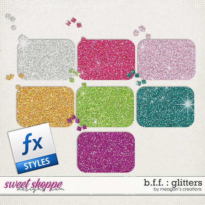 B.F.F. : Glitters by Meagan's Creations