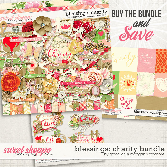 Blessings: Charity Bundle by Grace Lee and Meagan's Creations