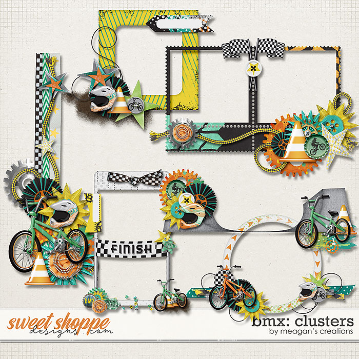 BMX : Clusters by Meagan's Creations