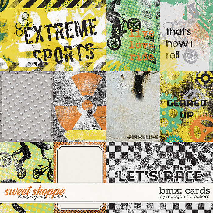 BMX: Cards by Meagan's Creations