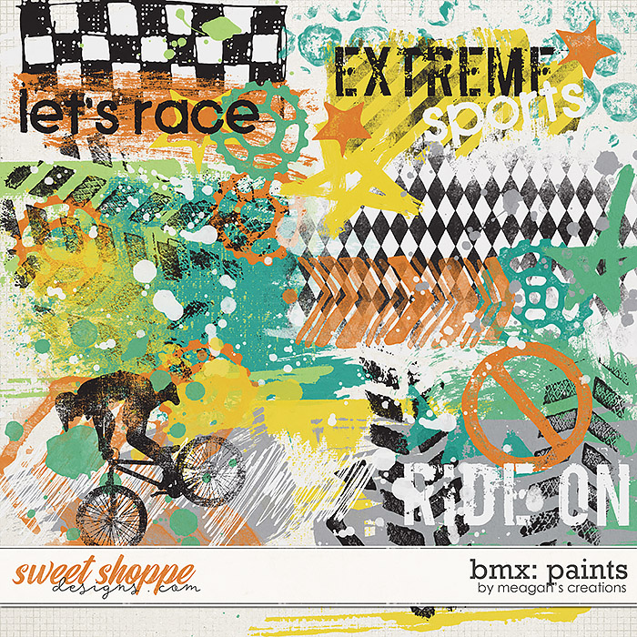 BMX: Paints by Meagan's Creations