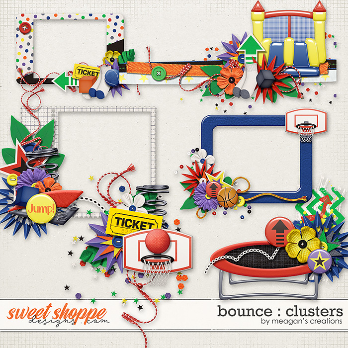 Bounce: Clusters by Meagan's Creations