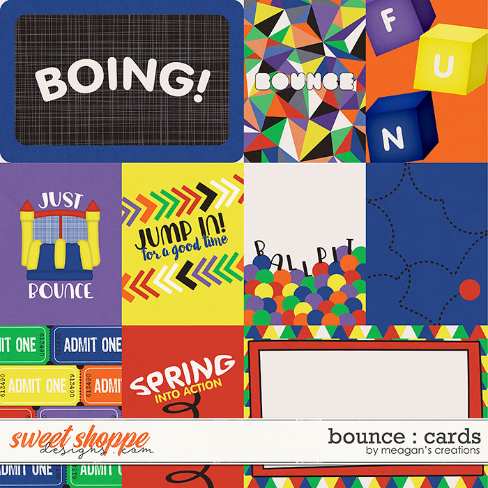 Bounce : Cards by Meagan's Creations