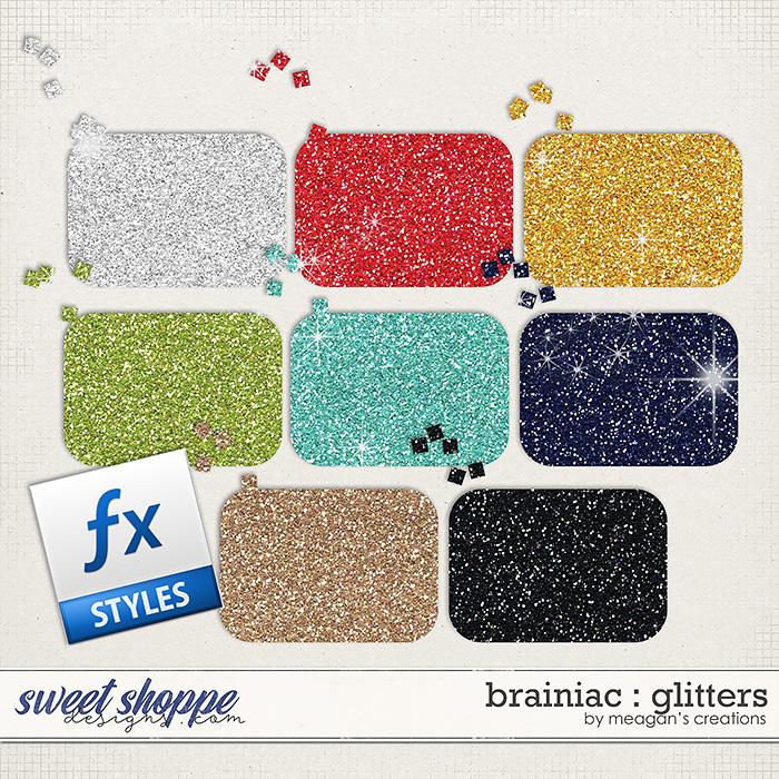 Brainiac : Glitters by Meagan's Creations