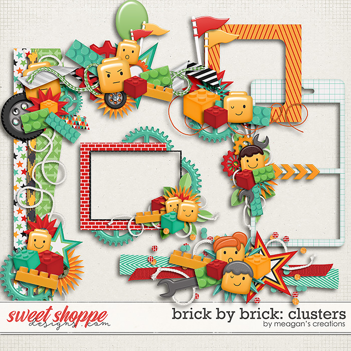 Brick by Brick: Clusters by Meagan's Creations