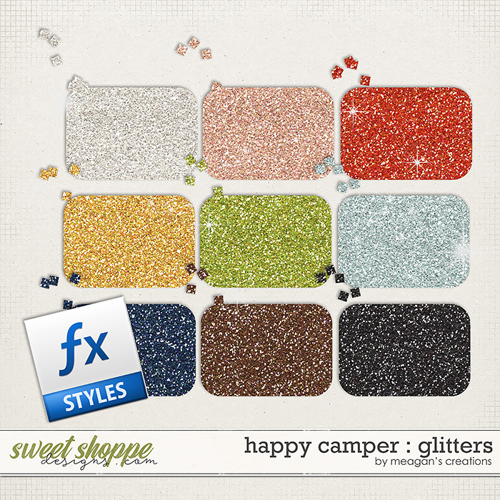 Happy Camper : Glitters by Meagan's Creations
