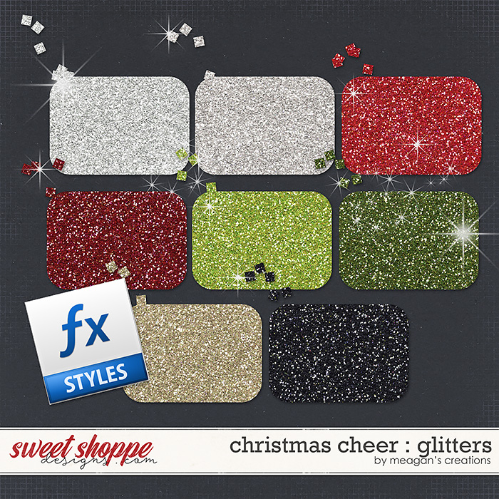 Christmas Cheer : Glitters by Meagan's Creations