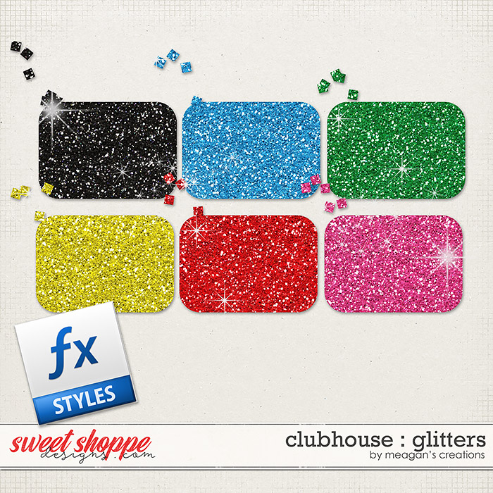 Clubhouse : Glitters by Meagan's Creations