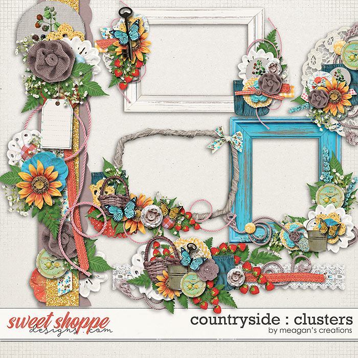 Countryside : Clusters by Meagan's Creations