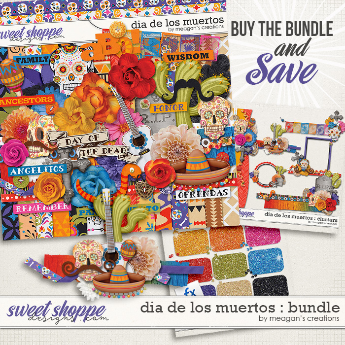 Dia De Los Muertos : Bundle by Meagan's Creations