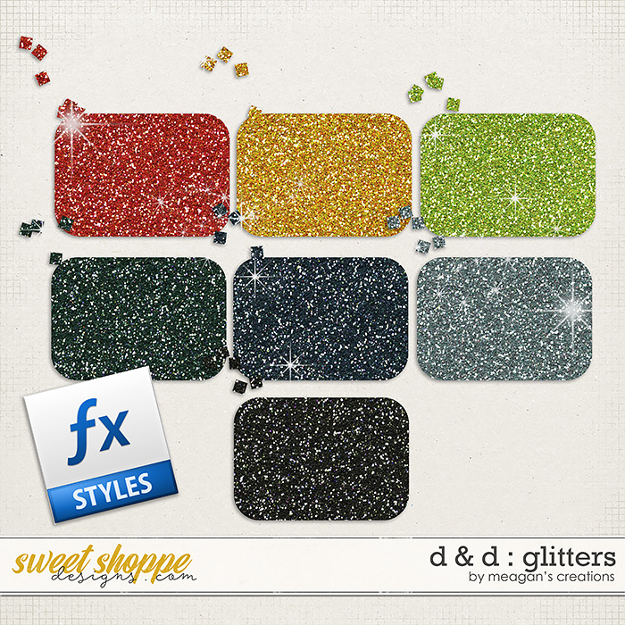 D & D : Glitters by Meagan's Creations
