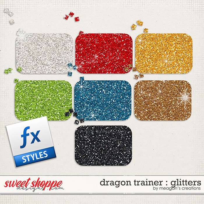 Dragon Trainer : Glitters by Meagan's Creations
