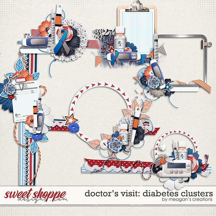 Doctor's Visit: Diabetes Clusters by Meagan's Creations