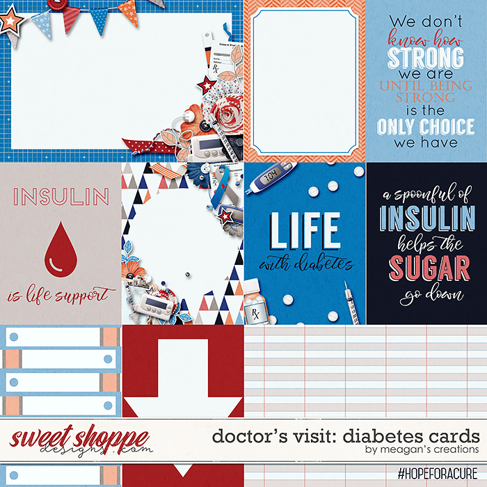 Doctor's Visit: Diabetes Cards by Meagan's Creations