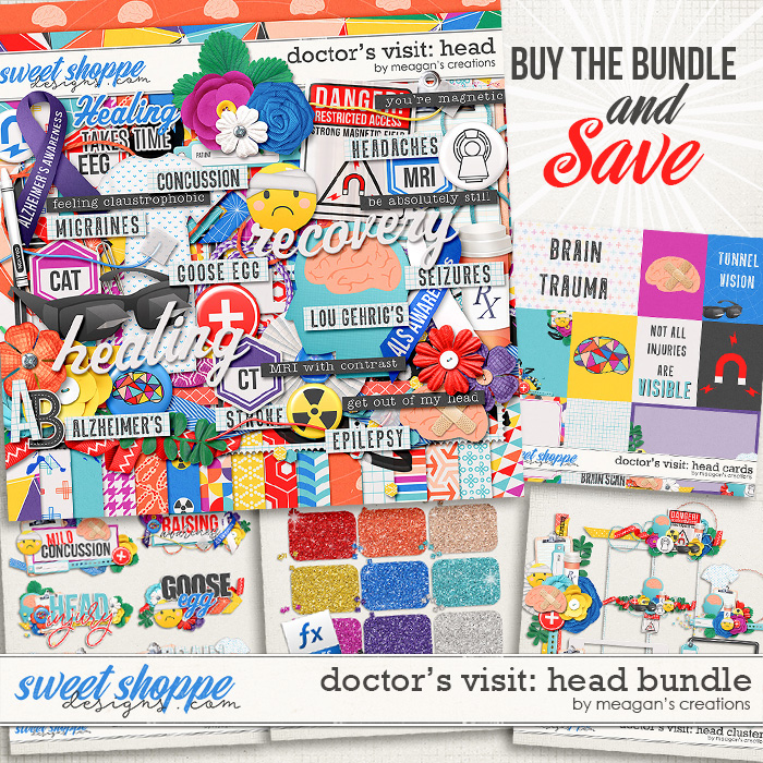 Doctor's Visit: Head Bundle by Meagan's Creations