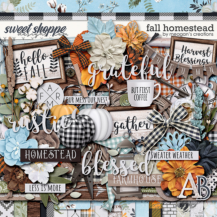 Fall Homestead by Meagan's Creations