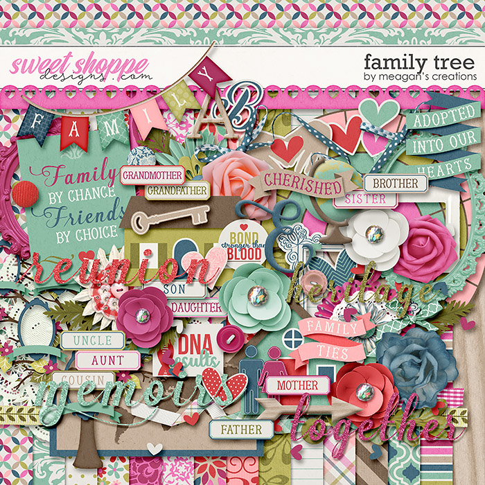 Family Tree by Meagan's Creations