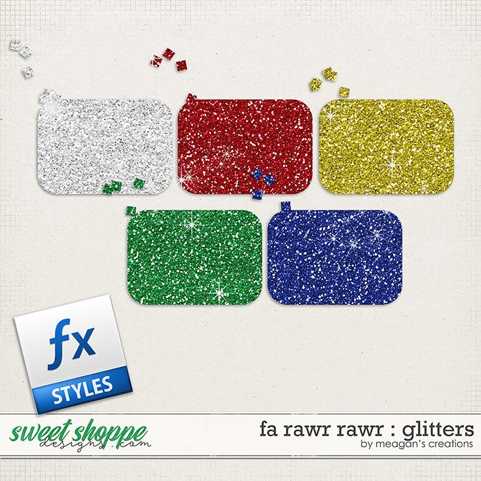 Fa Rawr Rawr : Glitters by Meagan's Creations