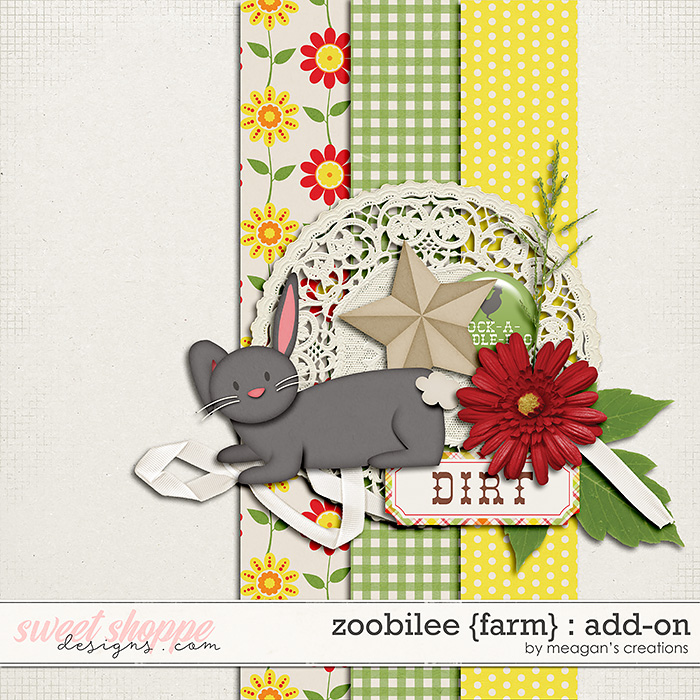 Zoobilee {Farm} : AddOn by Meagan's Creations