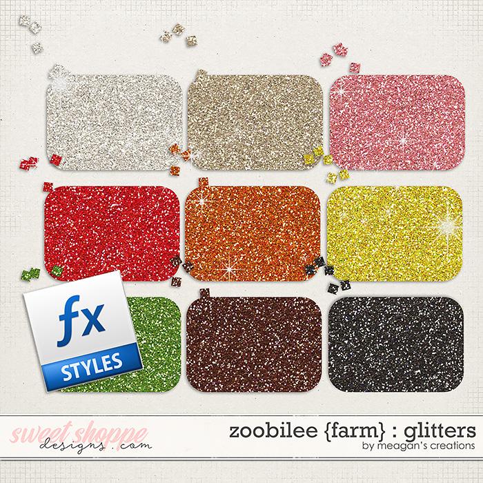 Zoobilee {Farm} : Glitters by Meagan's Creations