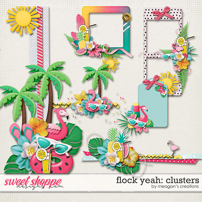 Flock Yeah: Clusters by Meagan's Creations