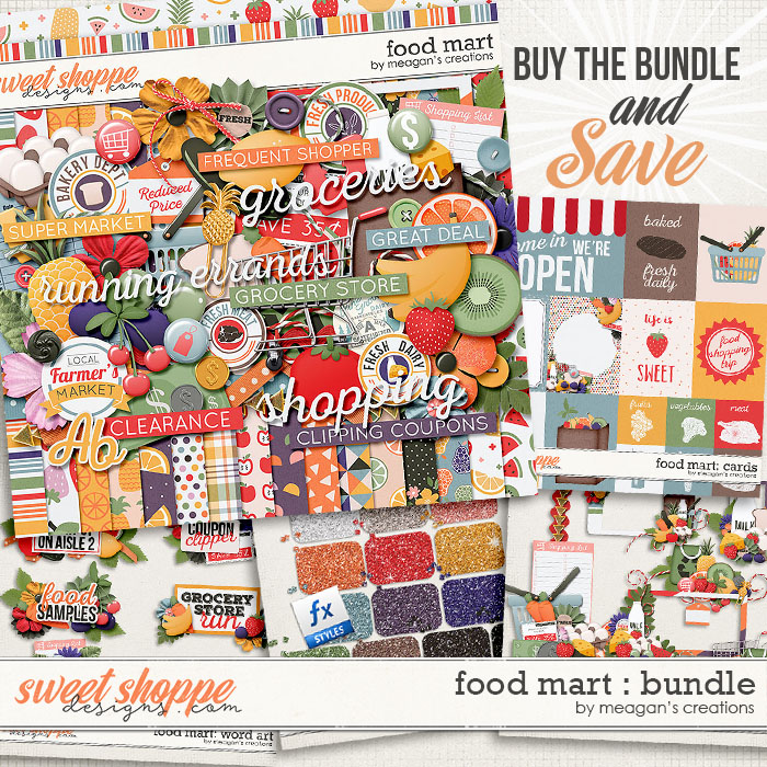 Food Mart: Bundle by Meagan's Creations