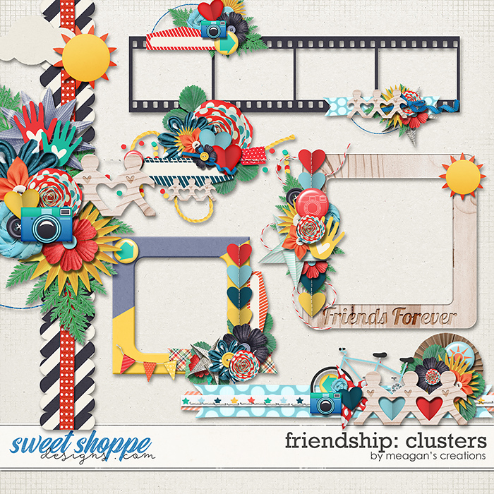 Friendship Clusters by Meagan's Creations