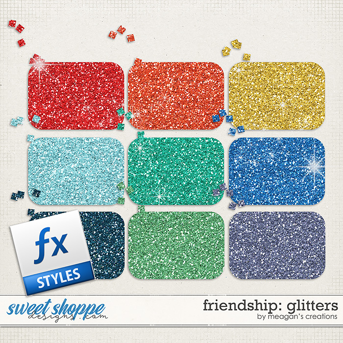 Friendship Glitters by Meagan's Creations