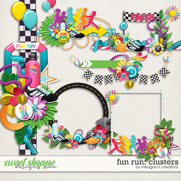Fun Run Clusters by Meagan's Creations
