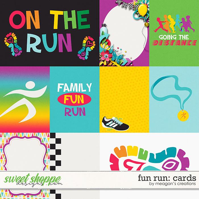 Fun Run Cards by Meagan's Creations