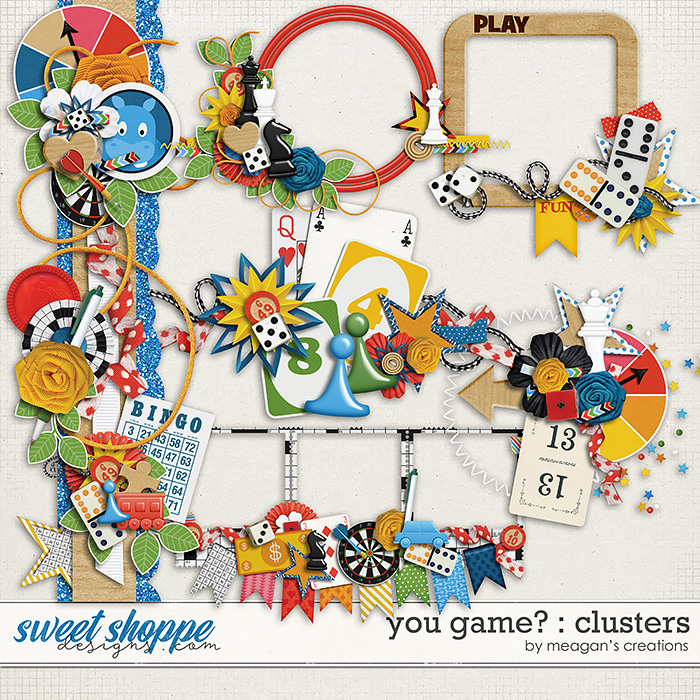 You Game? : Clusters by Meagan's Creations