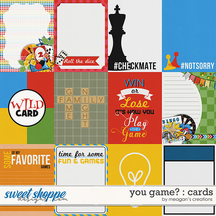 You Game? : Cards by Meagan's Creations