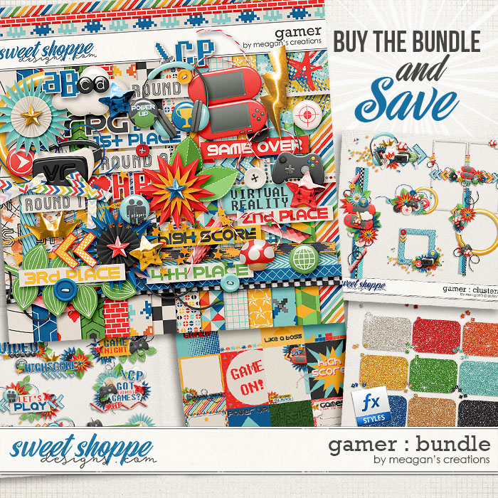 Gamer : Bundle by Meagan's Creations