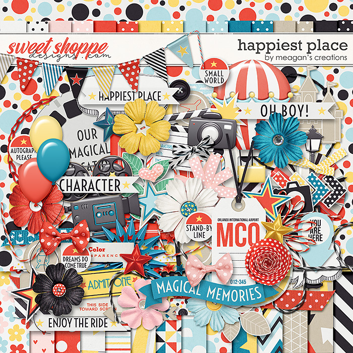 Happiest Place : Kit by Meagan's Creations