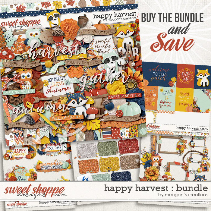 Happy Harvest Collection Bundle by Meagan's Creations
