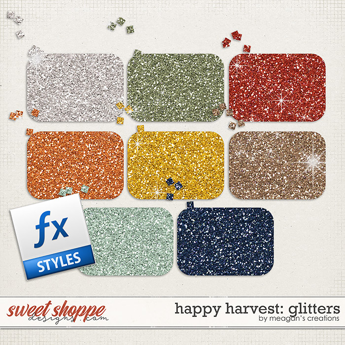 Happy Harvest: Glitters by Meagan's Creations