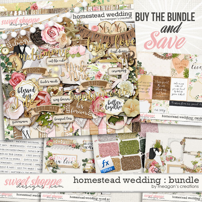 Homestead Wedding: Collection Bundle by Meagan's Creations