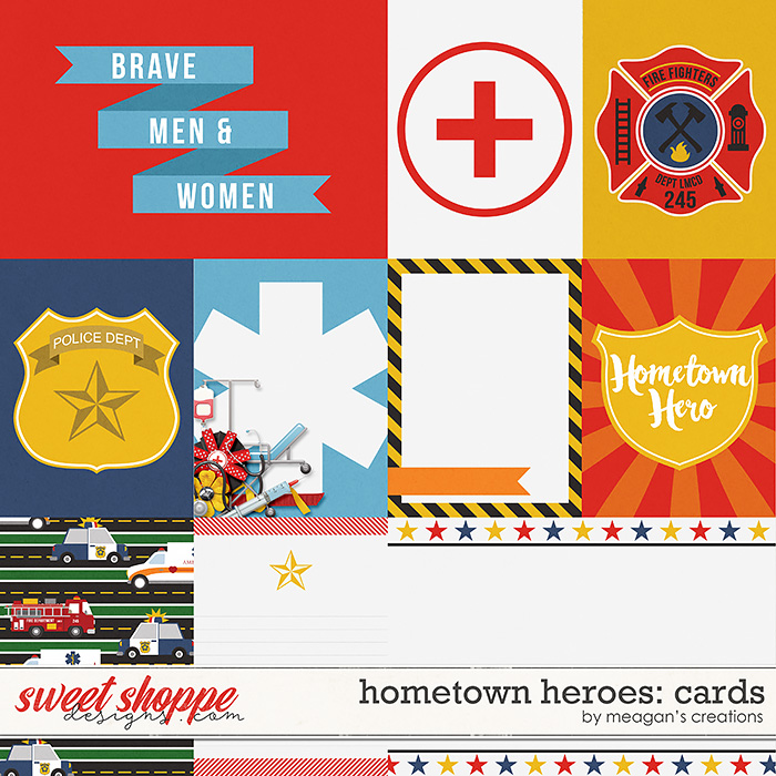 Hometown Heroes : Cards by Meagan's Creations