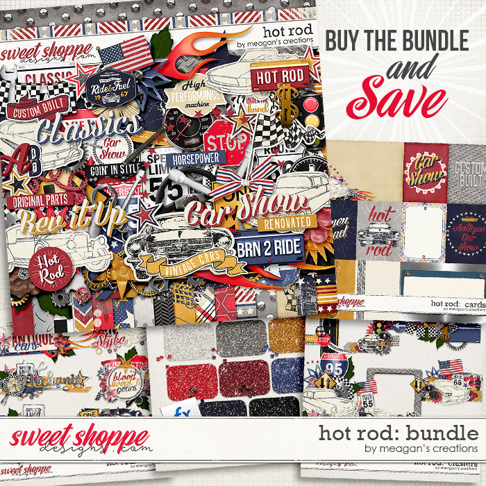 Hot Rod Collection Bundle by Meagan's Creations
